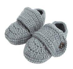 Bigood(TM) 1 Paar Strickschuh One Size Strick Schuh Baby Unisex süße Muster 11cm Schleife Pink Weiss - http://on-line-kaufen.de/bigood/bigood-tm-1-paar-strickschuh-one-size-strick-schuh-2