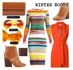 """""""So Cozy: Winter Boots"""" by kioriknight ❤ liked on Polyvore featuring Chanel, Reed Krakoff, VIVETTA, Missoni, Tory Burch and Lodis"""