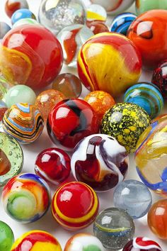 Marbles. Had a pretty great collection once! #collectibles #marbles, #glass #pinterest @Pinterest