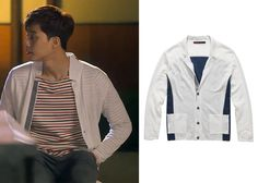 """Park Seo-Joon in """"Witch's Romance"""" Episode Top Gear Cardigan Witch's Romance, Seo Joon, Top Gear, Dramas, Men's Fashion, Park, Clothes, Tops, Style"""