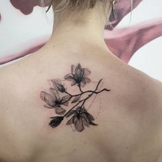Magnolia Tattoo by lingvombot