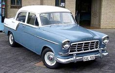 Had a Holden FC Special but with a darker blue bottom half Vintage Luggage, Vintage Cars, Antique Cars, Car Repair Service, Auto Service, Holden Australia, Sydney Australia, Carros Vintage, Aussie Muscle Cars