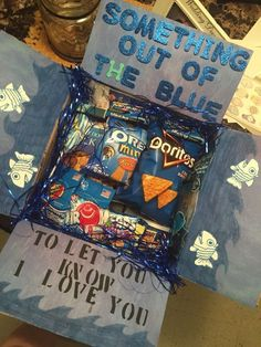 Out of The Blue | DIY Christmas Baskets for Teens