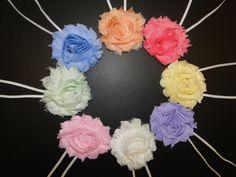 8 Baby Headbands Newborn Headband Baby by BabyliciousDivas on Etsy, $13.75