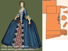 haute couture fashion Archives - Best Fashion Tips 18th Century Dress, 18th Century Costume, 18th Century Clothing, 18th Century Fashion, Costume Patterns, Doll Clothes Patterns, Clothing Patterns, Dress Patterns, Medieval Clothing