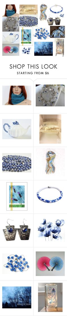 """Choice picks from Etsy Shops"" by cozeequilts ❤ liked on Polyvore featuring Nature Home Decor and Lampara"