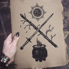 Tarot Suits journals are on sale in the web shop along with lots of other items! This measures approximately x with a handmade paper cover and black pages. Hand screenprinted with the Tarot. Witches Cauldron, Poison Apples, Kitchen Witch, Cover Tattoo, Paper Cover, Art Sketchbook, Compass Tattoo, Tarot, Screen Printing