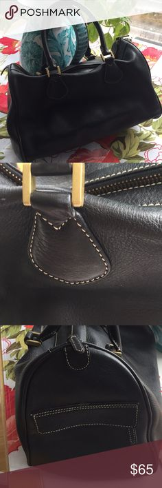 J. Crew brown leather satchel J. Crew brown leather satchel in great condition. Very clean inside and out. Some wear to the piping, but price is reflective. This is a fabulous looking handbag!! J. Crew Bags Satchels