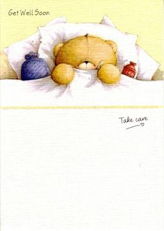#foreverfriends #teddy #cards Mejorate enfermo
