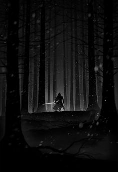 Star Wars: Episode VII Noir - Created by Marko Manev You can follow Marko on Tumblr and Facebook.