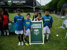 The Portland Timbers supported over 35+ Latino teams participating in the local Memorial Cup at the end of May.     Los Portland Timbers apoyaron a más de 35 equipos Latinos participando en la Copa Memorial al fin de Mayo.