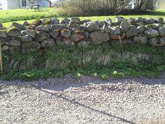 Beautiful stone fench