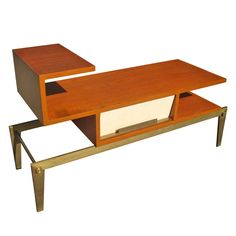 Arturo Pani rare coffee/center table | From a unique collection of antique and modern center tables at http://www.1stdibs.com/furniture/tables/center-tables/