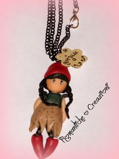 Collane ispirate alle Gorjuss di Suzanne Woolcott! Christmas Holly € 10,00