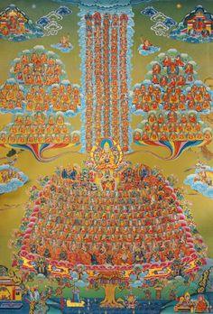 Tsong Khapa Refugee Tree