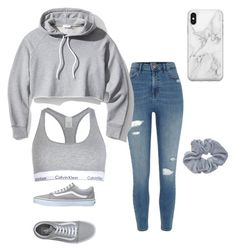 Comfy & Cute by kkayyllee on Polyvore featuring polyvore, fashion, style, Frame, River Island, Calvin Klein, Vans, Recover and clothing