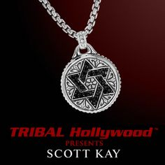 bebef9c64 Scott Kay BLACK SAPPHIRE CROSS DOG TAG Sterling Silver Mens Necklace in  2019 | mens necklaces, mens jewlery | Mens silver necklace, Men necklace,  ...