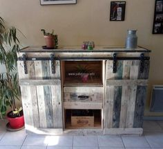 Pallet Ideas: DIY Wood Pallet Furniture Projects and DIY Pallets Recycling Plans