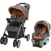 Graco AFFIX Highback Booster and Travel System, Tangerine and Milton - Walmart.com - matching booster chair for Attie