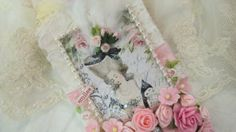 Marie Antoinette Gift Tag  Handmade Tag With by underthenightmoon, $24.00