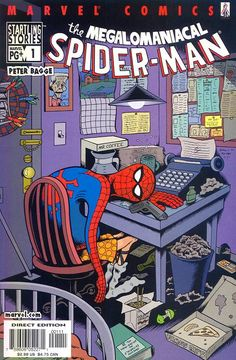 Startling Stories: The Megalomaniacal Spider-Man by Peter Bagge