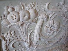 cornucopia bas-relief in Le Petit Trianon