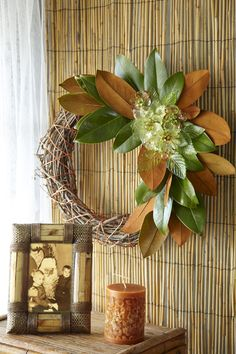 Transforming bargain wreaths!  :)