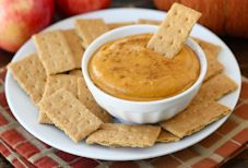 A sweet, creamy dip for graham crackers or cookies that's reminiscent of pumpkin pie.