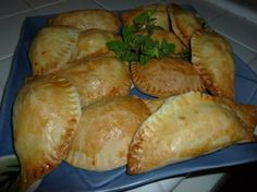#ultimate thanksgiving Home made Empanadas filled w/ ground Turkey, potatoes, raisins and butter nut squash