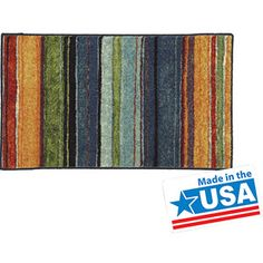 Mohawk Home Carnival Stripe Printed Nylon Rug at Walmart 8x10 $162.99