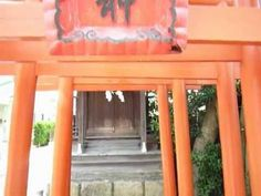 Inari shinto shrine in Japan.Many red gates are standing.   http://japan-temple-shrine.blogspot.jp/2012/12/inari-shinto-shrine.html