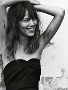 Freja Beha Erichsen photographed by Cass Bird for Vogue UK, January 2014.