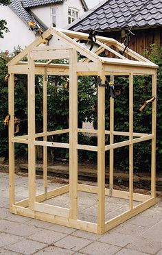 Testing greenhouse assembly