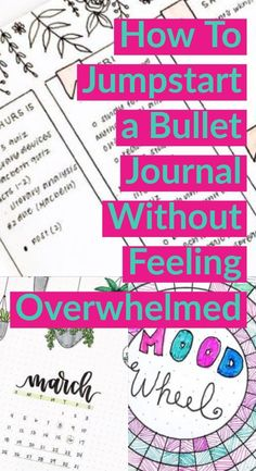 Organize your life with bujo planning system. Read more to learn how to set up your own bullet journal without feeling overwhelmed Bullet Journal For Beginners, Bullet Journal How To Start A, Bullet Journal Notebook, Bullet Journal Spread, Bullet Journal Ideas Pages, Bullet Journal Layout, Bullet Journal Inspiration, Journal Prompts, Journal Pages