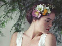 Pétrichor sublime la couronne de fleurs - Les Marieuses