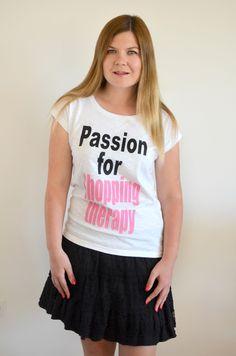 Therapy, Passion, T Shirt, Shopping, Etsy, Tops, Women, Supreme T Shirt, Tee Shirt