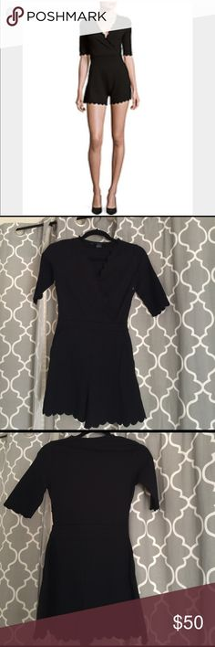 Beau Solid jump suit by French Connection black Flawless. Size 2 it's a gorgeous piece but It's just seating in my closet, I took the tags off, but I haven't wear it, it needs a new home. No trades or modeling. Thanks for looking French Connection Dresses Mini