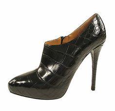 Ralph Lauren Purple Label Crocodile Berdine Shoes Boots 9.5 New $6000