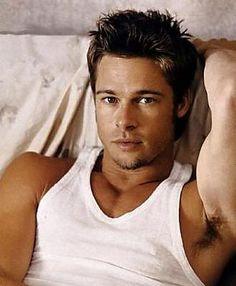 Brad Pitt. MmmmmHmmmm, yes please!