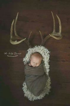 Newborn pic... for the hunter