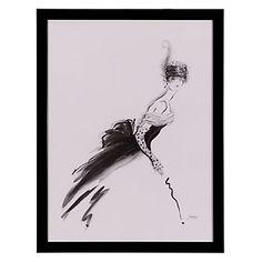 Tribute to Odette framed print. $89.95