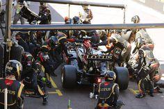 Pit Stop - Monaco GP