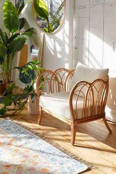 Home Interior Vintage Melody Rattan Chair.Home Interior Vintage Melody Rattan Chair Living Room Chairs, Living Room Furniture, Home Furniture, Furniture Design, Dining Chairs, Lounge Chairs, Furniture Stores, Bag Chairs, Furniture Ideas