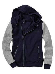 @Gap...if I had my way, I would have a closet full of only hoodies, jackets and coats! Why am I so obsessed!
