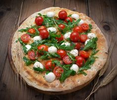 Prepare a delicious Cherry Tomato & Walnut Pizza recipe with Urban Accents Herbes de Provence, an all-natural blend of thyme, rosemary and lavender.