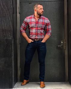 Modern country,🧐not bad at all👍 is part of Mens accessories fashion - Style Masculin, Casual Outfits, Men Casual, Country Men, Modern Country, Perfect Man, Look Cool, Well Dressed, Menswear