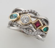 celtic style mothers ring - Google Search