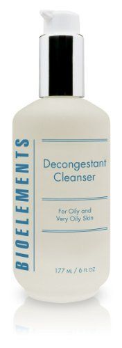 Bioelements Decongestant Cleanser, 6-Ounce by Bioelements. $22.68. Deep cleanses skin. Removes pore-clogging impurities and excess oil. Leaves skin feeling refreshed and sparkly clean. An oil-free, lathering gel cleanser that removes all traces of pore-clogging impurities, excess oil and makeup. Leaves your skin feeling sparkly clean, soft and refreshed.. Save 35% Off!