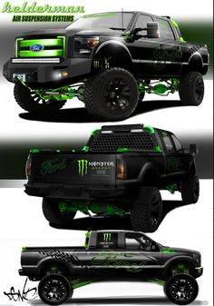 2012-SEMA 2012 Ford F 250 XLT Crew Cab 6.7L Powerstroke V8 Turbo Diesel Kelderman Air Suspension System.