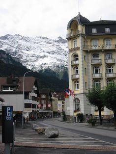 "ENGELBERG, Switzerland  ""Hotel Europe"" had the most beautiful scenery ever from hotel balcony!"